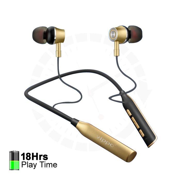 Khulja Simsim VNB 5786 GOLD Wireless Bluetooth Mobile Phone In Ear Wireless With Mic Headphones/Earphones