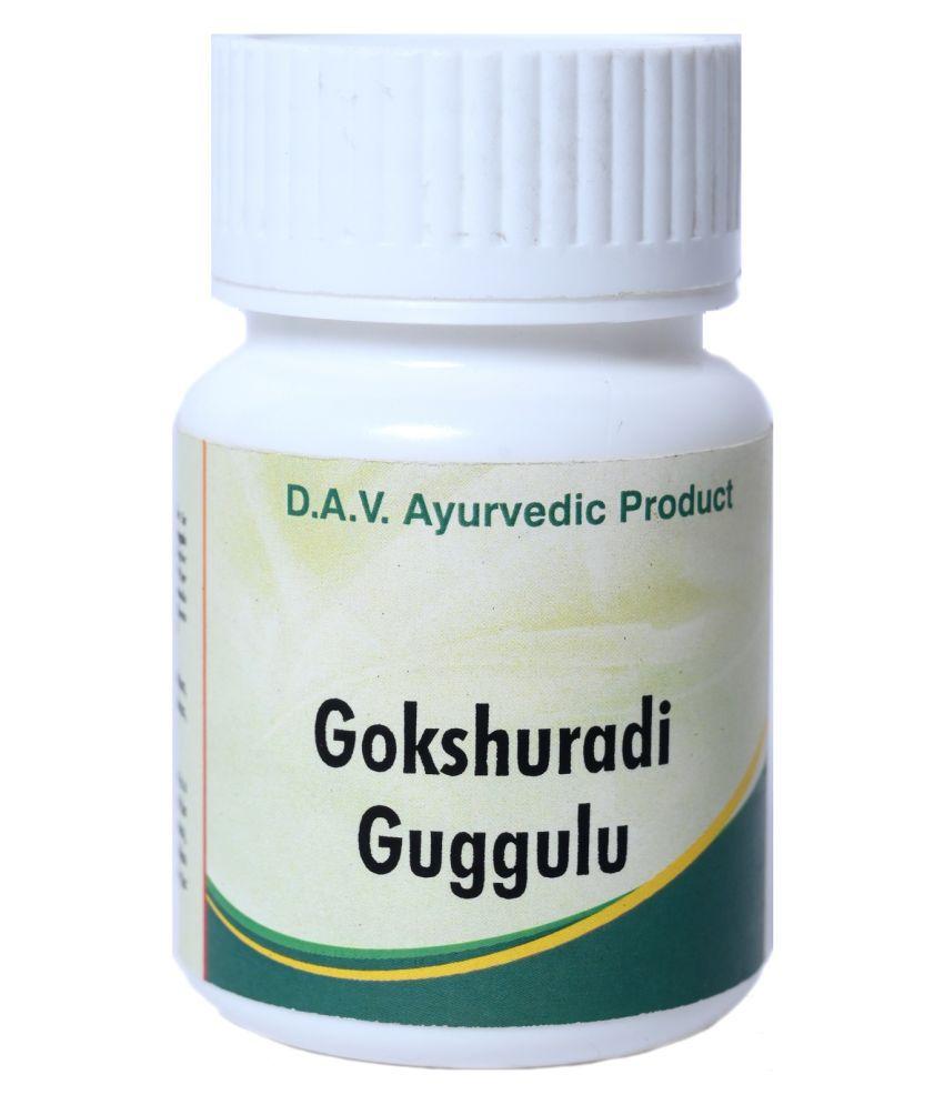 DAV Pharmacy Gokshuradi Guggulu 4 Tablet 50 gm Pack Of 1
