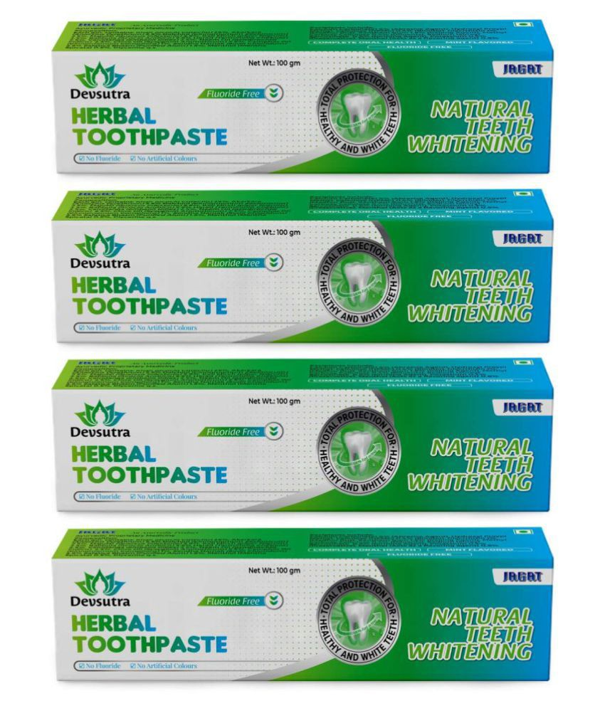 JAGAT - mint Toothpaste 100 gm Pack of 4
