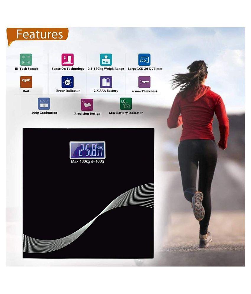 sakshi enterprise LCD Display Digital Personal Bathroom Health Body Weighing Scale Weighing Scale