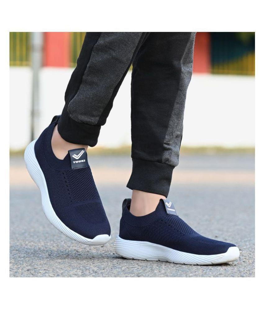 YUUKI EASY WALK 1.1 Navy Running Shoes