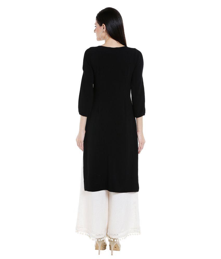 Fusion Beats Polyester Multi Color Regular Dress - Single