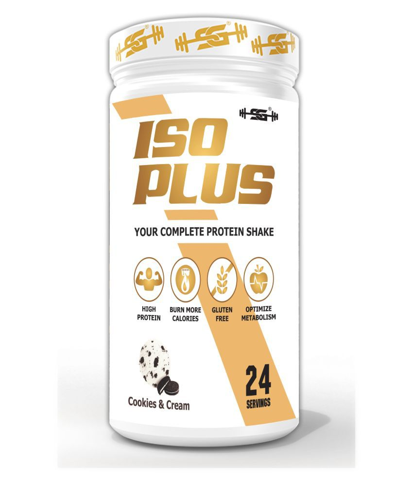 SG Welness Whey ISO PLUS Protein Isolate,Protein with BCAAs 600 gm