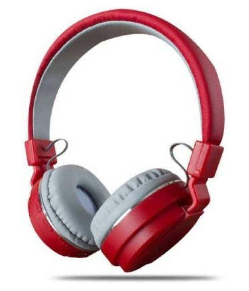 shadox vali v-12 super bass Over Ear Wireless With Mic Headphones/Earphones