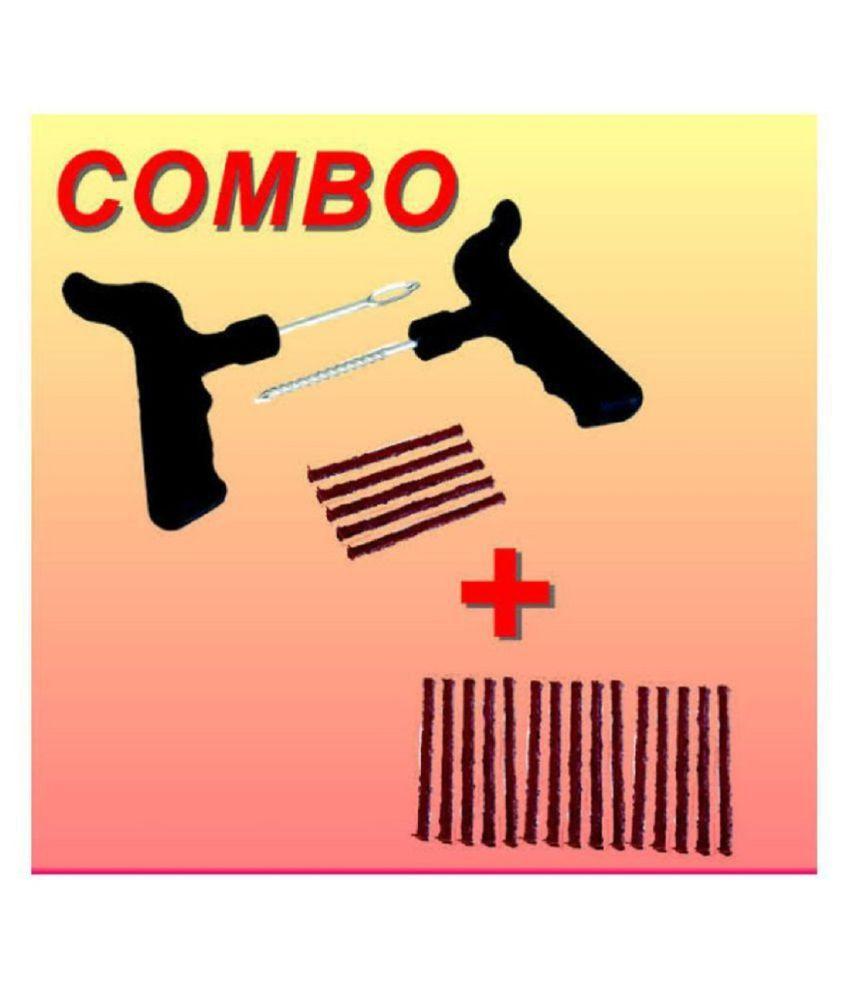 SHOPIKK PRO Tubeless Tyre Puncture Repair Kit 11 - 20 Strips