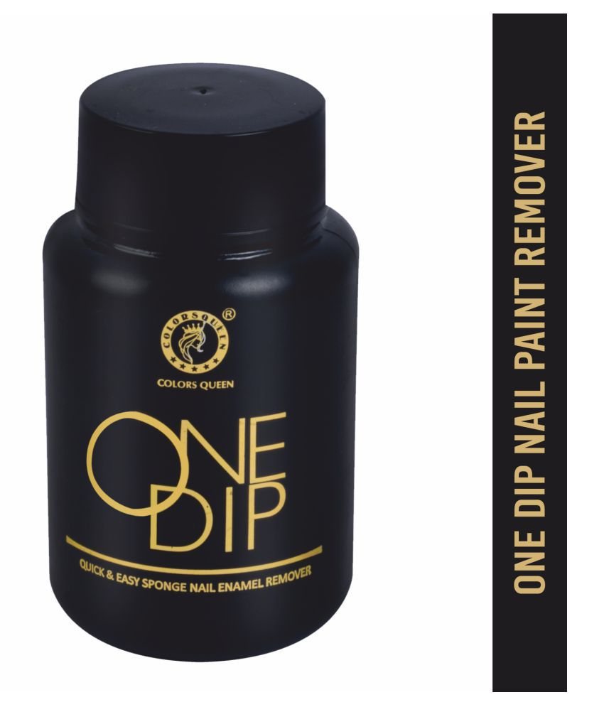 Colors Queen One Dip Nail Paint Remover Liquid 40 mL
