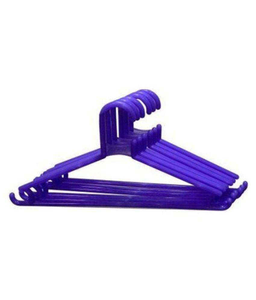 TNC-Plastic Pack Of 6 Hangers Plastic Pack of 6 Hangers  (Multicolor)