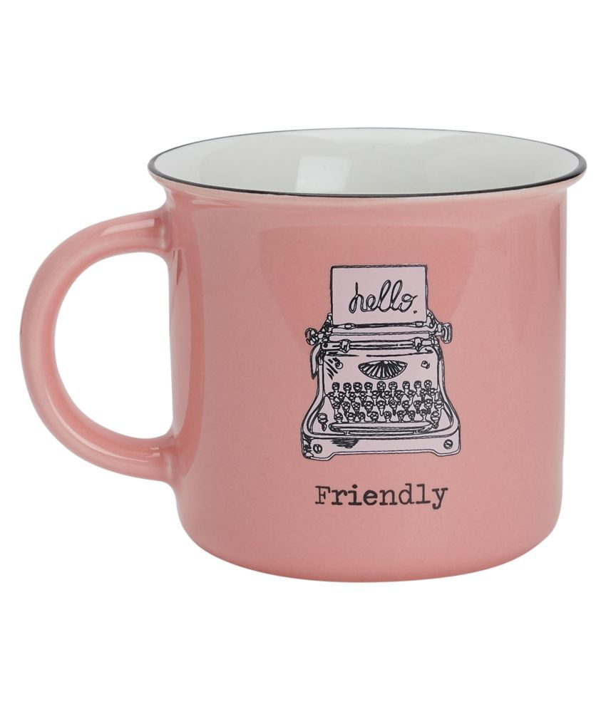Vola Minimal series Porcelain Coffee Mug 1 Pcs 350 mL