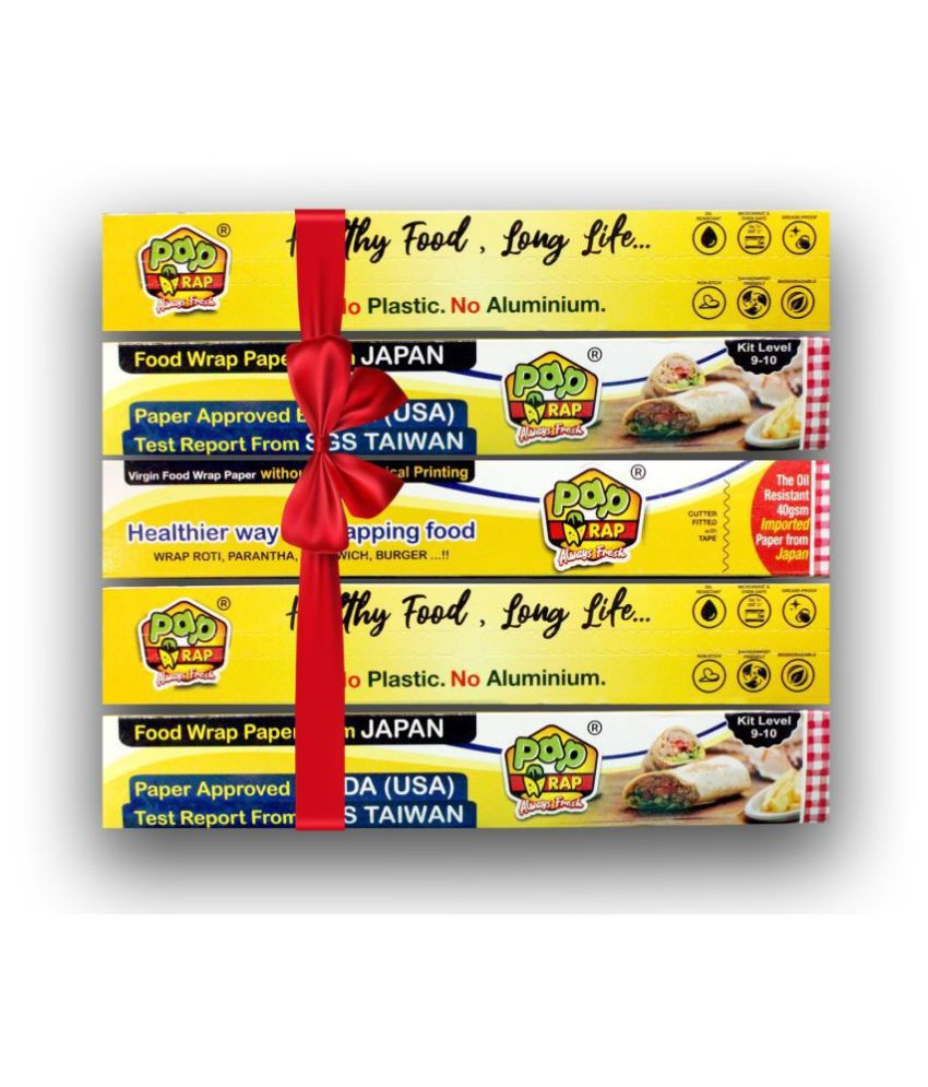 Pap Wrap Food Wrapping Paper   Pack 5 x 21 Mtr