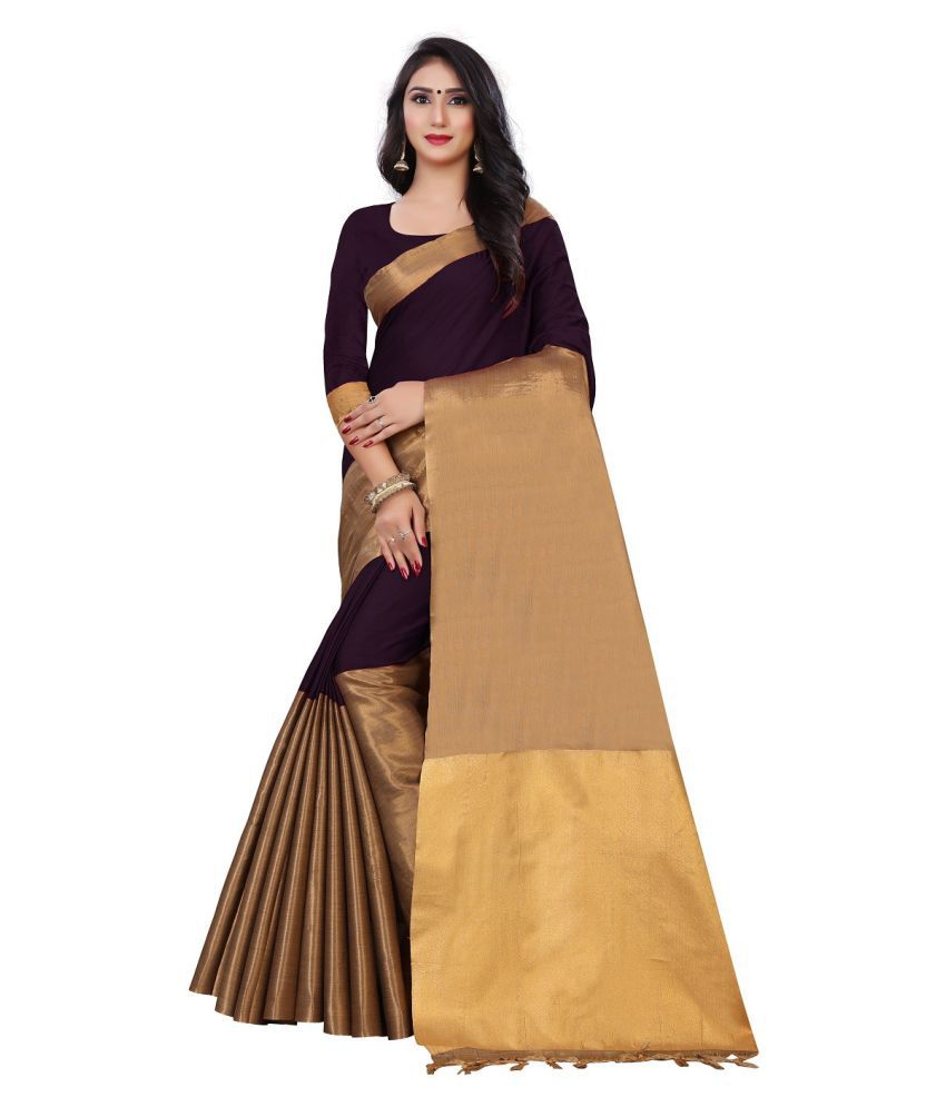 Avisha Magenta Cotton Saree