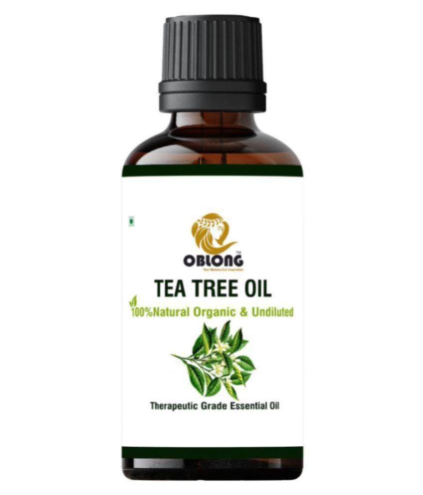 Oblong TEA TREE OIL Essential Oil 10 mL