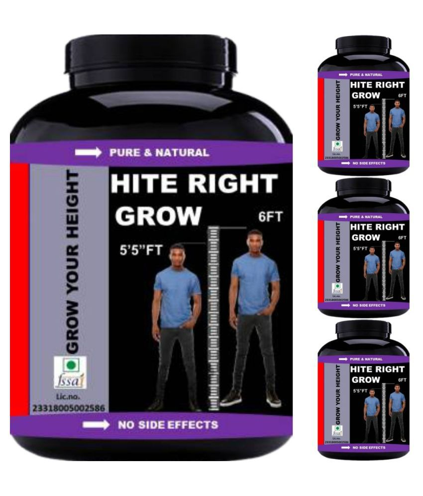 VITARA HEALTHCARE hite right grow 120 kg Capsule Pack of 4