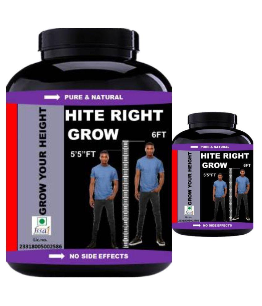 VITARA HEALTHCARE hite right grow 0.2 kg Powder Pack of 2
