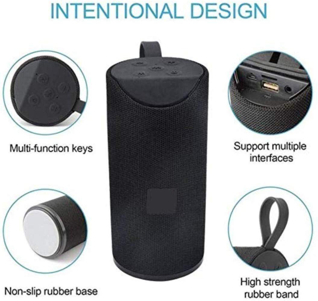 HOD TG 113 Best Buy Ultra DJ Sound Blast Speaker Portable Best Bluetooth Speaker tg 113 with Super deep Bass Wireless Rechargeable dj Sound Bluetooth Speaker Support TF/USB/Pen Drive/AUX Slot