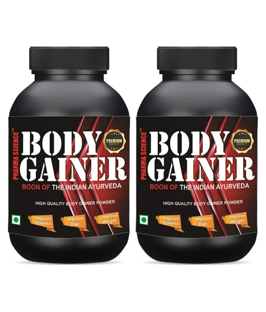 Pharma Science Muscle & Body Gainer Powder 100 gm Pack Of 2