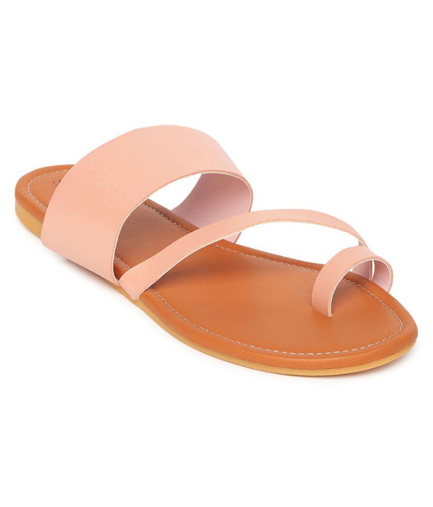 Stalk Pink Flats