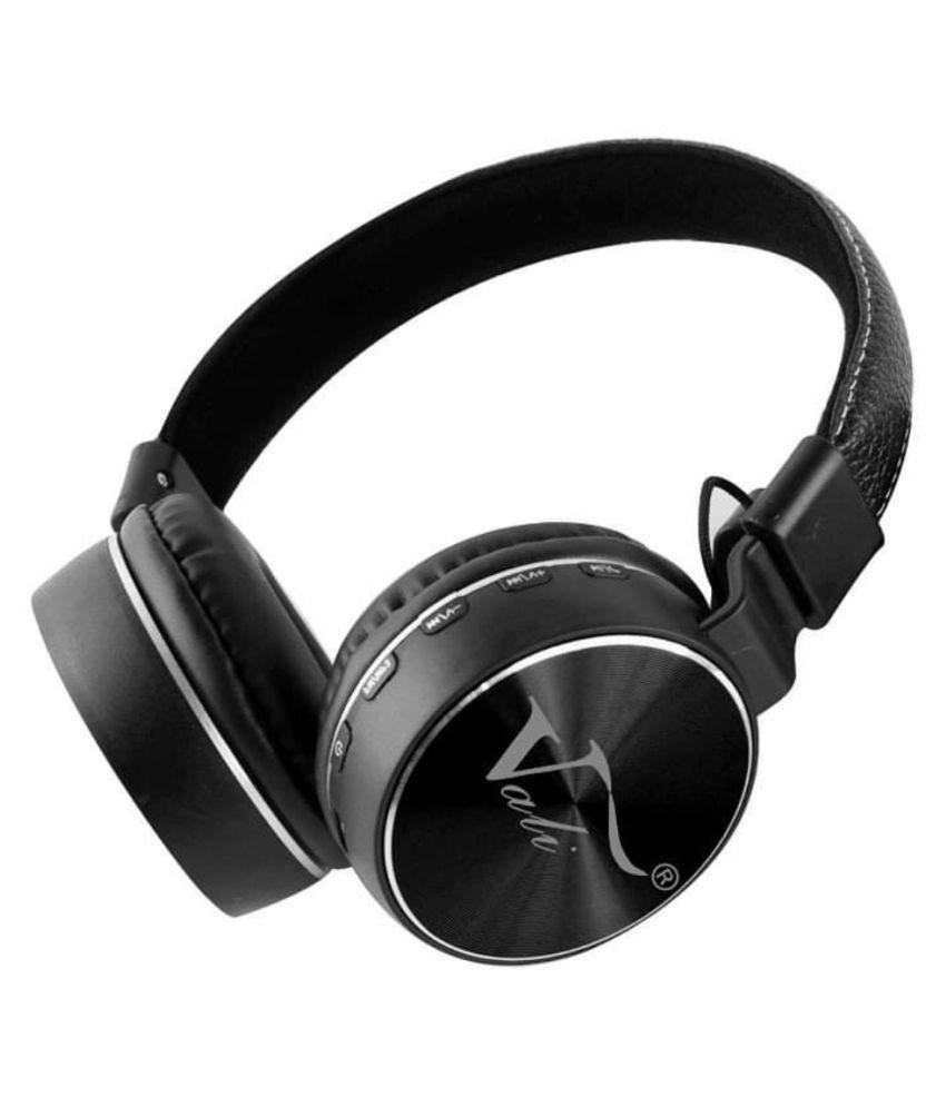 shadox vali v-555 super bass Over Ear Wireless With Mic Headphones/Earphones