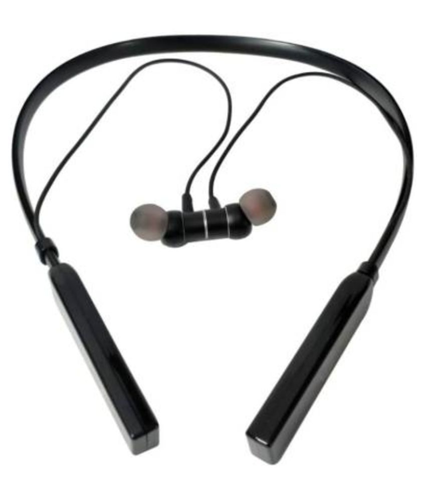 shadox VALI V-66 SUPER BASS Neckband Wireless With Mic Headphones/Earphones