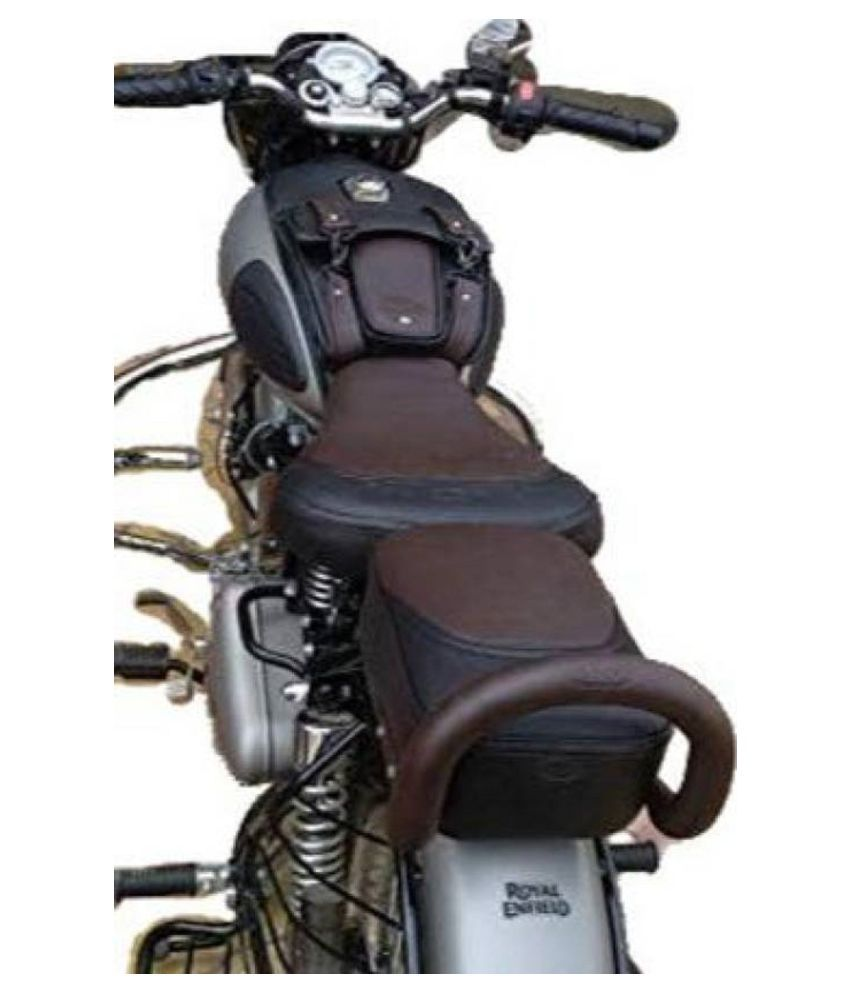 Waterproof Premium Leather Seat Cover for Royal Enfield