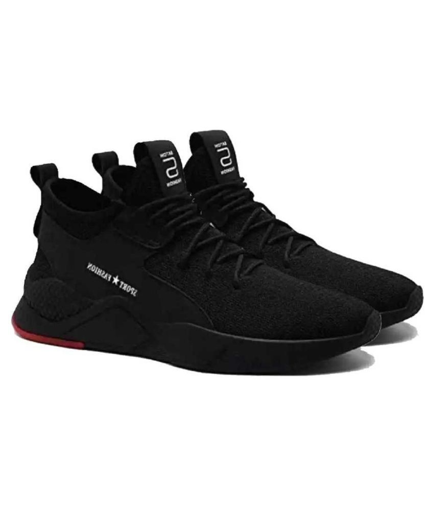 Crv Sports Shoe Black Running Shoes