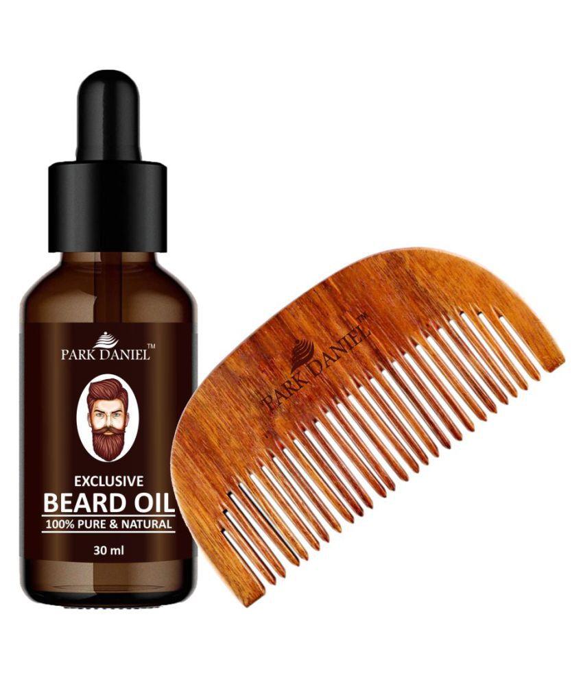Park Daniel  Comb + Beard Oil  Shaving Brush Pack of 2