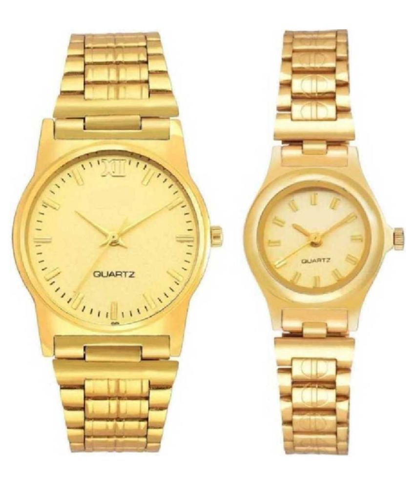 Viser WRIST WATCHES FOR COUPLE STYLISH LOOK Analog Watch   For Men  amp; Women BEST GIFT WATCHES Analog Watch   For Couple