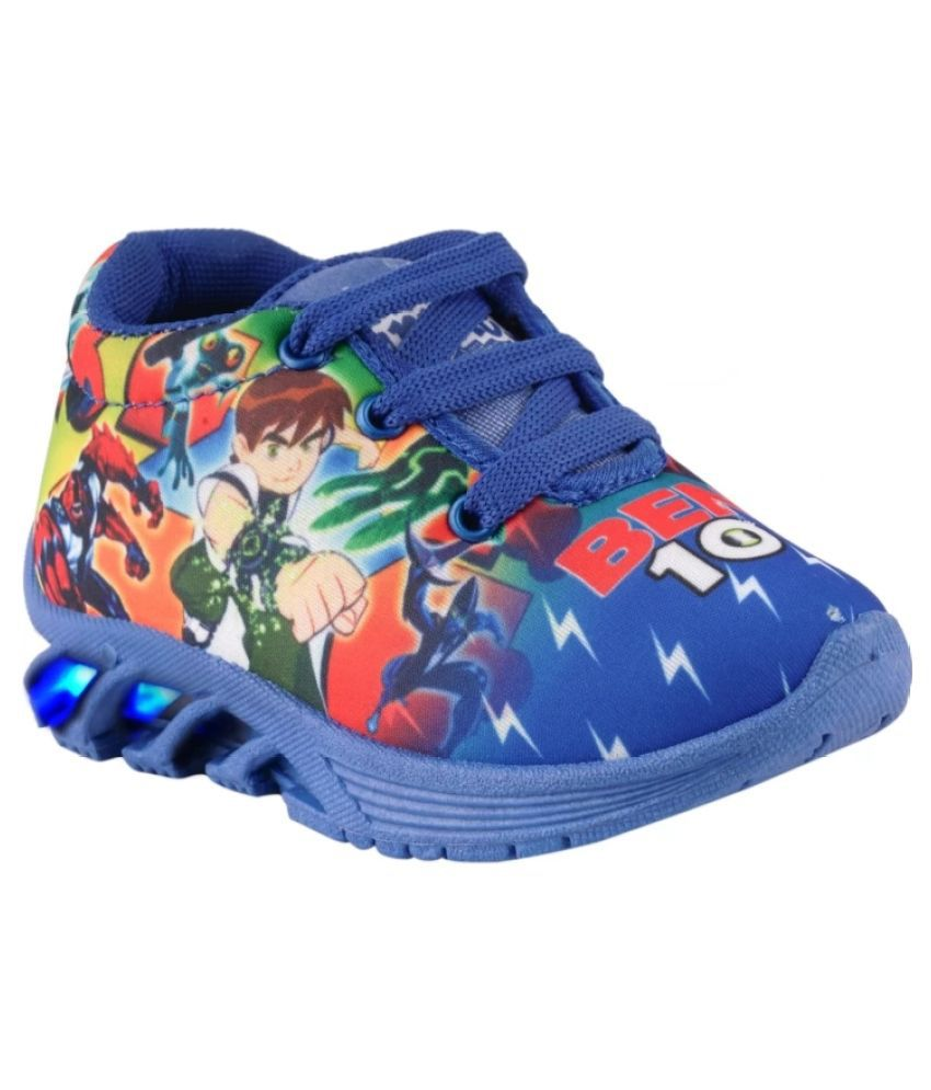 BUNNIES Baby Boys LED Leight Indian Walking Shoes (5 Years to 13 Years)