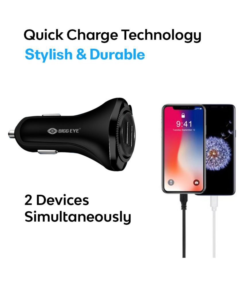 Bluei Car Mobile Charger CC 202 Assorted