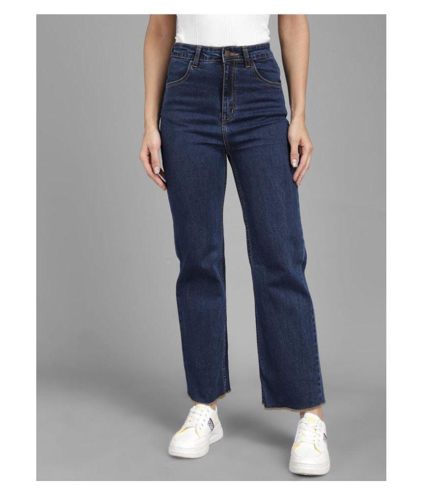 Kotty Cotton Lycra Girls High Rise Jeans