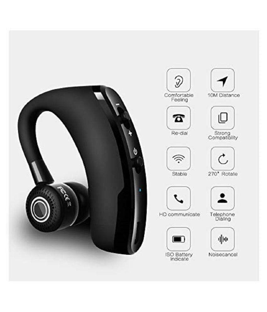 STONX V9 Latesh Wireless Bluetooth Headset - Black