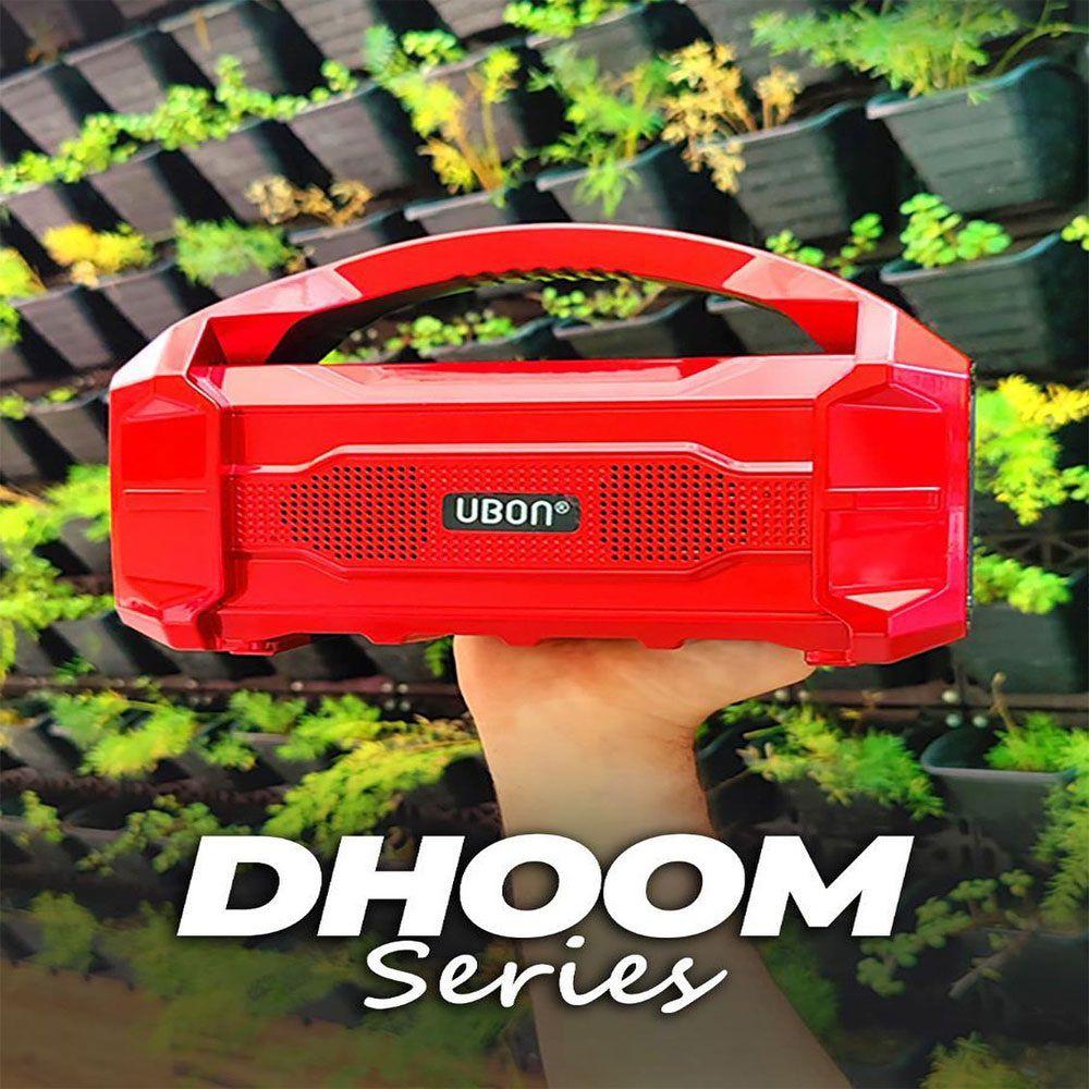 Pingaksh UBON GBT-285 DHOOM SERIES WIRELESS SPEAKER  IMPORTED Bluetooth Speaker