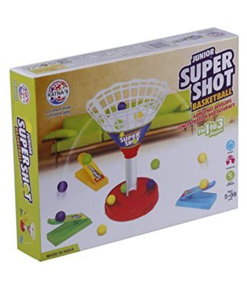 Ratna #039;s Premium Quality Press  amp; Launch Super Shot Basket Ball Junior