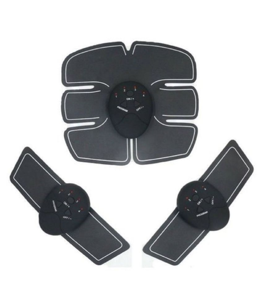 A BEST BUY 6Pc AAA Battery FREE Beauty Body Mobile Gym Technology Kit 6 Pack Abs, Wireless Electro Pad Portable