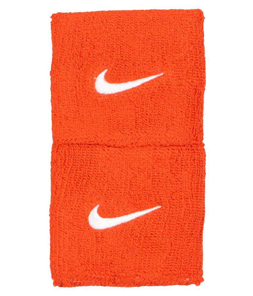 Genxtra Sports Wrist Band  Orange, pack of 2