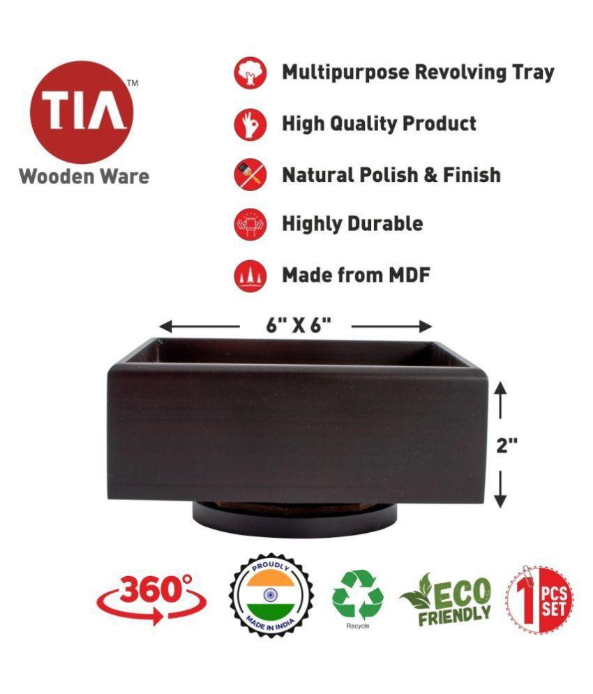 Tia Wooden Condiment Set 1 Pcs