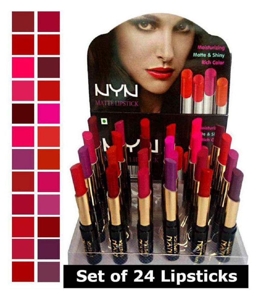 Lenon NYN Lipstick Matte Finish, Color Multi 100 g