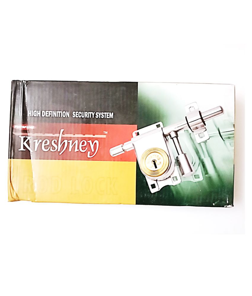 THIS KRESHEY LOCKS USED FOR HOME SECURITY.T HAS 1 YEAR WARRANTY. IT IS MADE OUT OF STAINLESS STEEL AND HAS GLOSSY FINISH. IT COMES WITH ALL THE MATERIAL NEEDED FOR THEIR APPLICATION. IT HAS 3 KEYS.