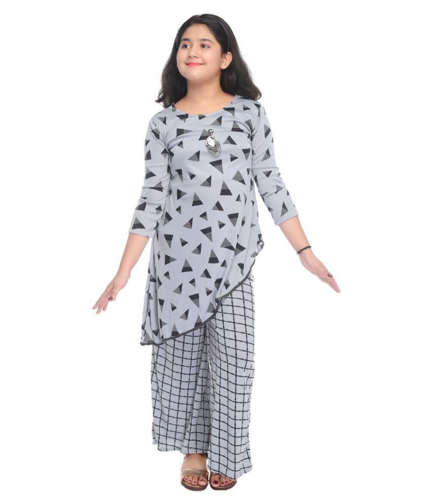 SFC Maxi/Full Length Party Dress  Multicolor, 3/4 Sleeve