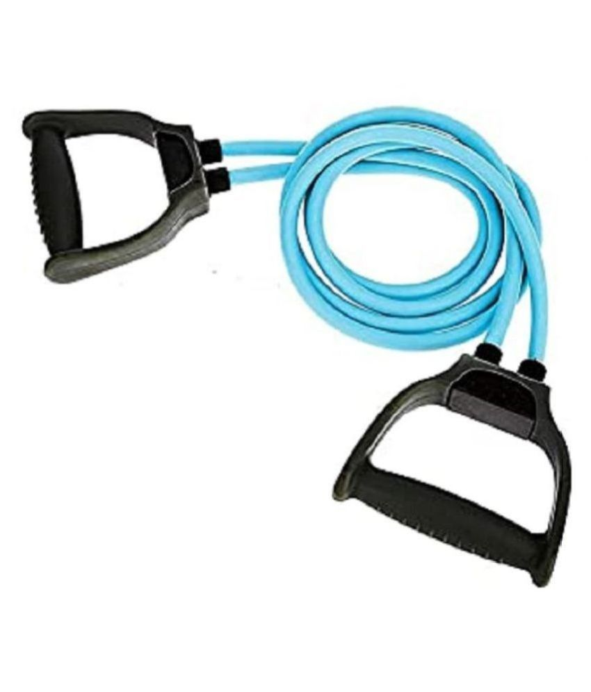 Double Toning Resistance Tube Heavy Quality Pull Rope Elastic Rubber, Workout, Home Gym