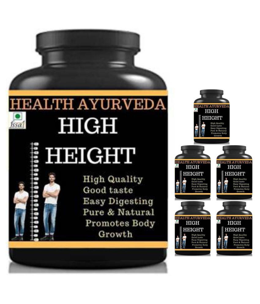 Hindustan Herbal high height mango flavor 0.6 kg Powder Pack of 6