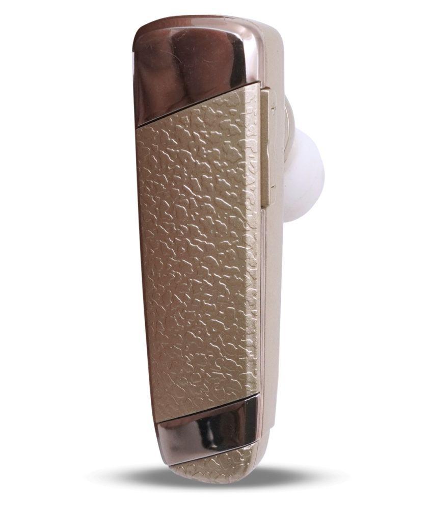 Expode K2 Single Ear Bluetooth Bluetooth Headset - Golden