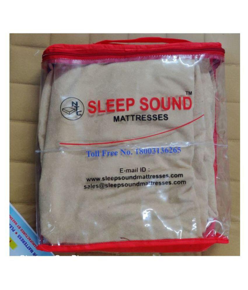 Sleep Sound Mattresses Grey Poly Cotton Mattress Protector