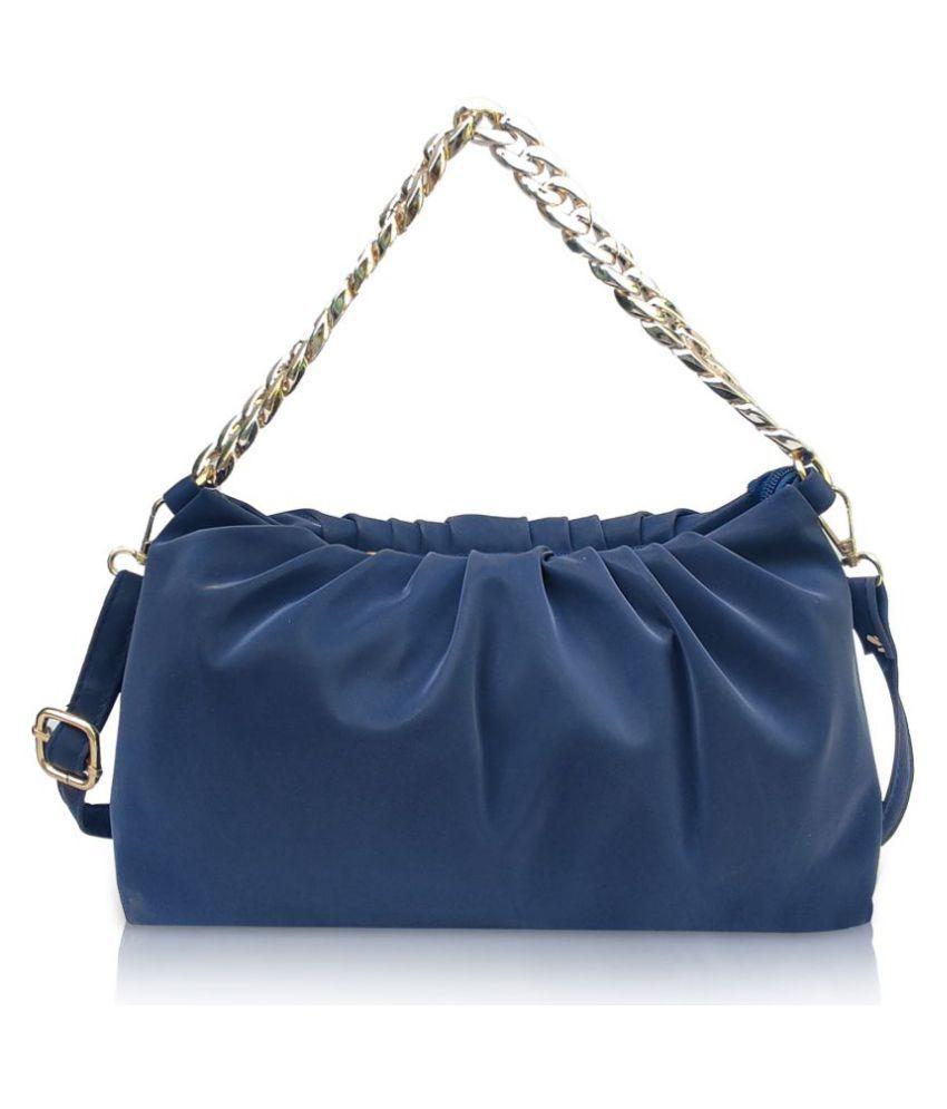 MNS Gallery Blue P.U. Sling Bag