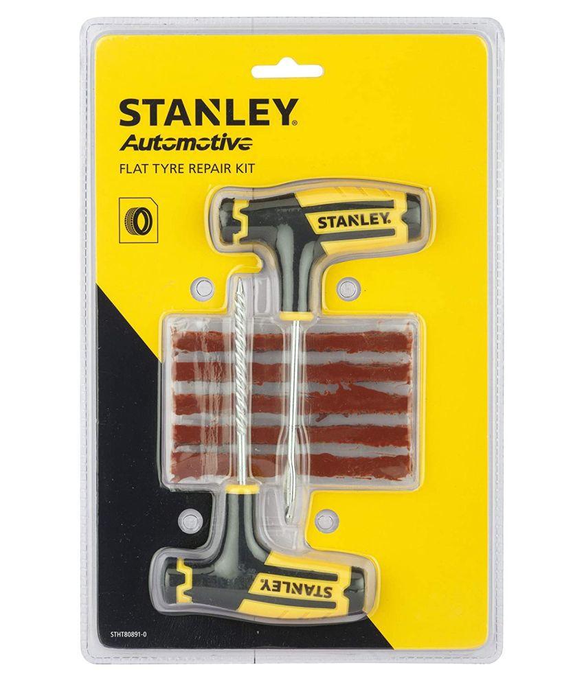 Stanley Tubeless Tyre Puncture Repair Kit 5 - 10 Strips