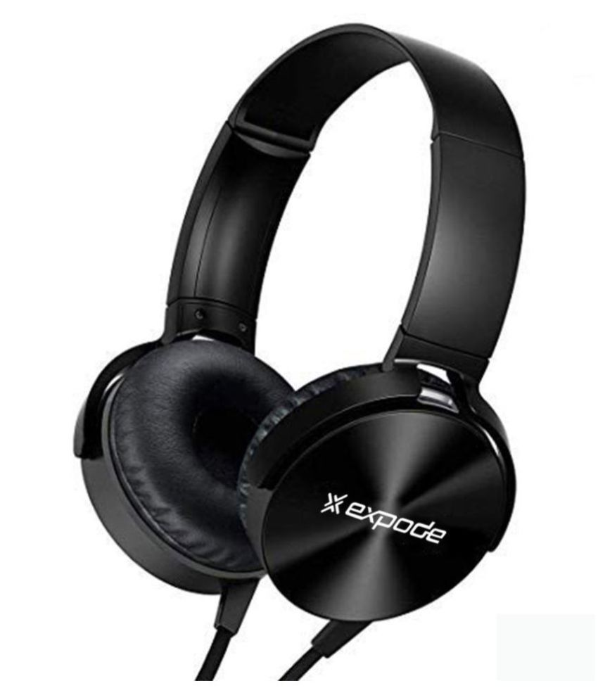 Expode XB 450 On Ear Wired With Mic Headphones/Earphones