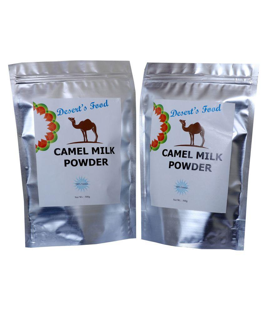 Deserts Food Camel Milk Powder Whole Milk Powder 1 kg Pack of 2