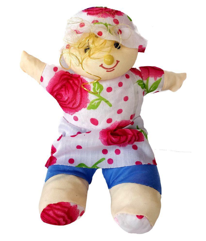 FestivalsBazar Smart Girl Soft Toy   12 inch