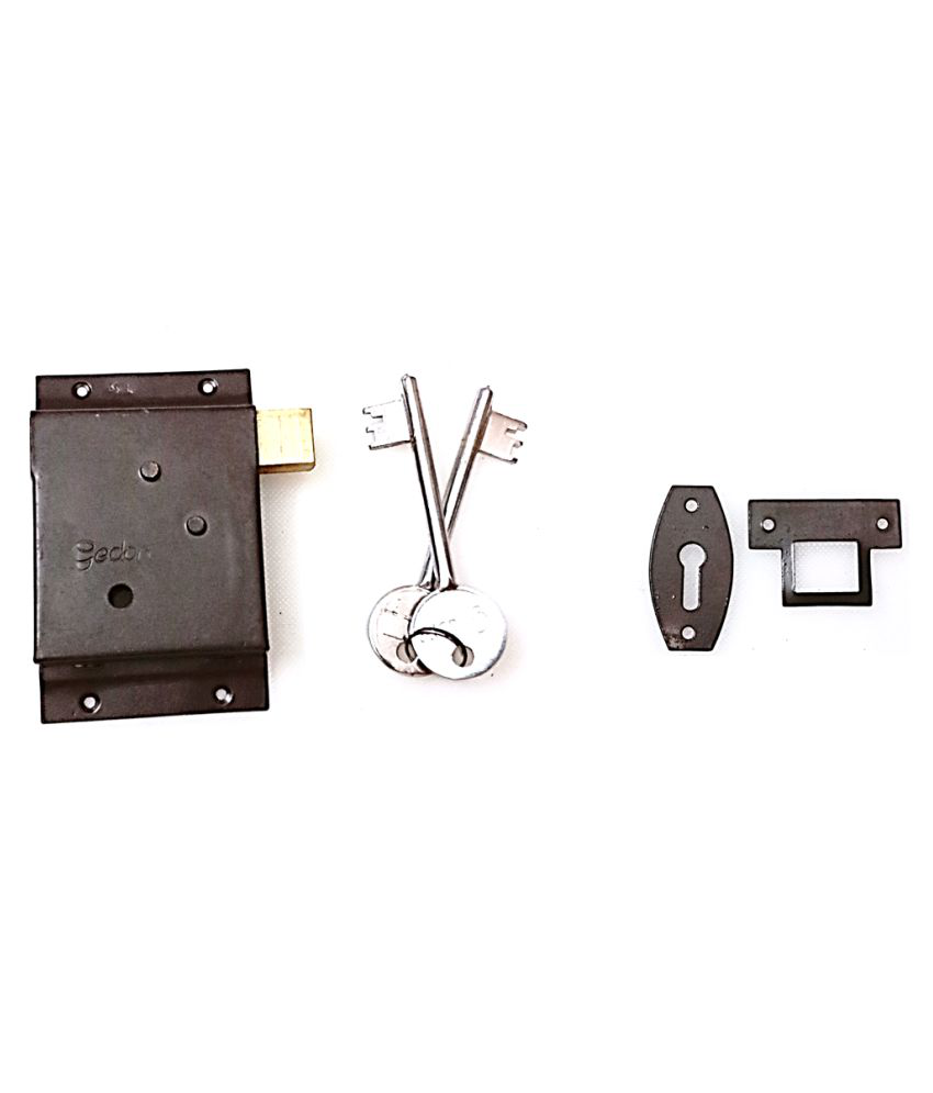 THIS GEDORE LOCKS IS USED FOR SECURITY.IT HAS 2 YEAR WARRANTY AND HAS GLOSSMATT FINISH. IT HAS 2 KEYS AND LOCKS HOLDERS. IT IS MADE OF STAINLESS STEEL.