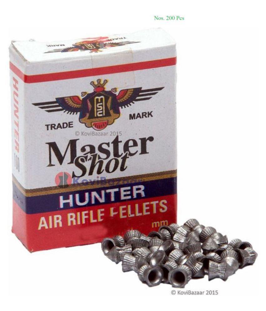 Air Gun Bullets 0.177 Calibre 200 Pellets (Except 0.22 Cal)