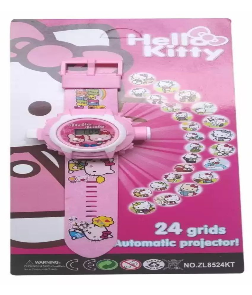 Piper london hello kitty watch projector 24 images for girls.